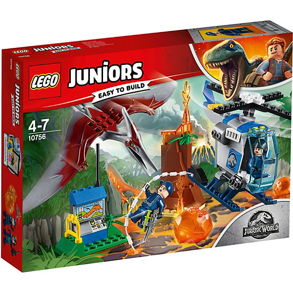 LEGO Конструктор LEGO Juniors Jurassic World 10879: Побег птеранодона