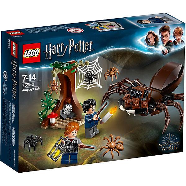 LEGO Конструктор LEGO Harry Potter 75950: Логово Арагога