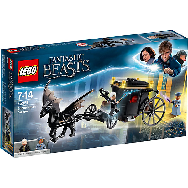 LEGO Конструктор LEGO Harry Potter 75951: Побег Грин-де-Вальда national geographic readers hang on monkey