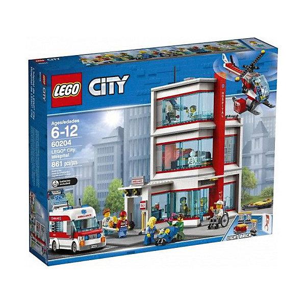LEGO Конструктор City Town 60204: Городская больница