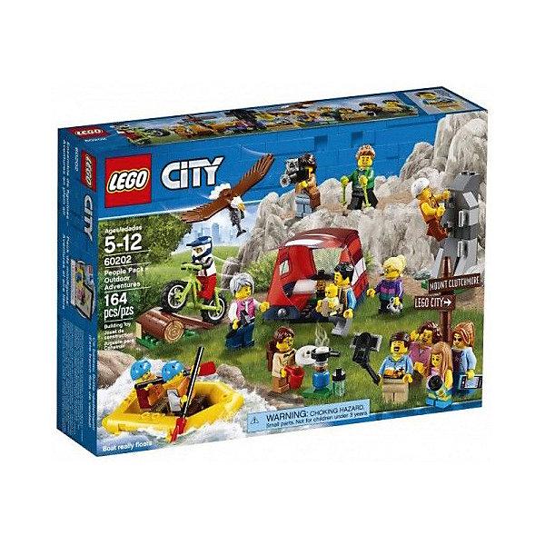 LEGO Конструктор LEGO City Town 60202: Любители активного отдыха эксмо полная энциклопедия мини фигурок lego dc comics эксклюзивная мини фигурка