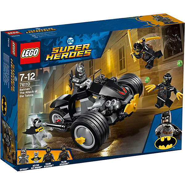 LEGO Конструктор LEGO Super Heroes 76110: Бэтмен: Атака когтями super heroes batman decool blocks set mr freeze aquaman compatible with lego marvel models building toys