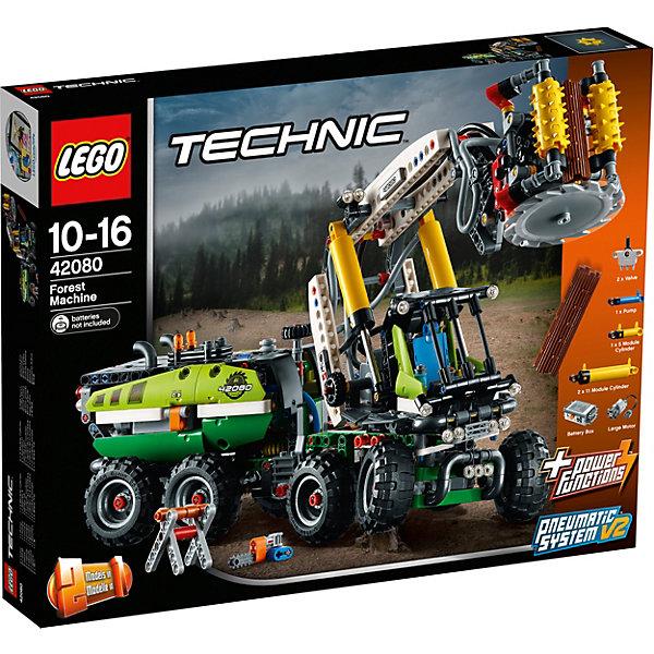LEGO Конструктор Technic 42080: Лесозаготовительная машина