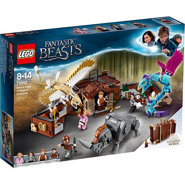 LEGO Конструктор Harry Potter 75952: Чемодан Ньюта Саламандера