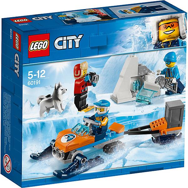 LEGO Конструктор City Arctic Expedition 60191: Полярные исследователи