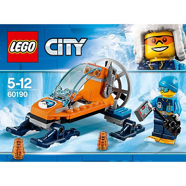 LEGO Конструктор LEGO City Arctic Expedition 60190: Аэросани lego конструктор lego city arctic expedition 60195 передвижная арктическая база