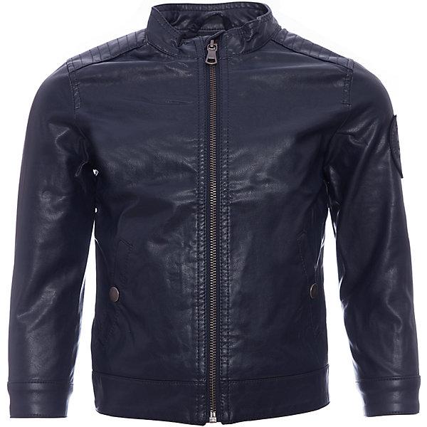 Куртка Original MarinesВерхняя одежда<br>Характеристики товара:<br><br>• цвет: синий<br>• состав ткани: 100% вискоза<br>• подкладка: 100% полиэстер <br>• утеплитель: нет<br>• сезон: демисезон<br>• особенности модели: без капюшона<br>• застежка: молния, кнопки<br>• страна бренда: Италия<br><br>Легкая детская куртка легко дополнена удобными карманами. Куртка для ребенка стильно смотрится. Детская ветровка создает комфортные условия в прохладную погоду и удобно сидит по фигуре. <br><br>Куртку Original Marines (Ориджинал Маринс) можно купить в нашем интернет-магазине.<br>Ширина мм: 356; Глубина мм: 10; Высота мм: 245; Вес г: 519; Цвет: темно-синий; Возраст от месяцев: 48; Возраст до месяцев: 60; Пол: Мужской; Возраст: Детский; Размер: 104/110,92/98,152/158,140/146,128/134,116/122; SKU: 8015430;