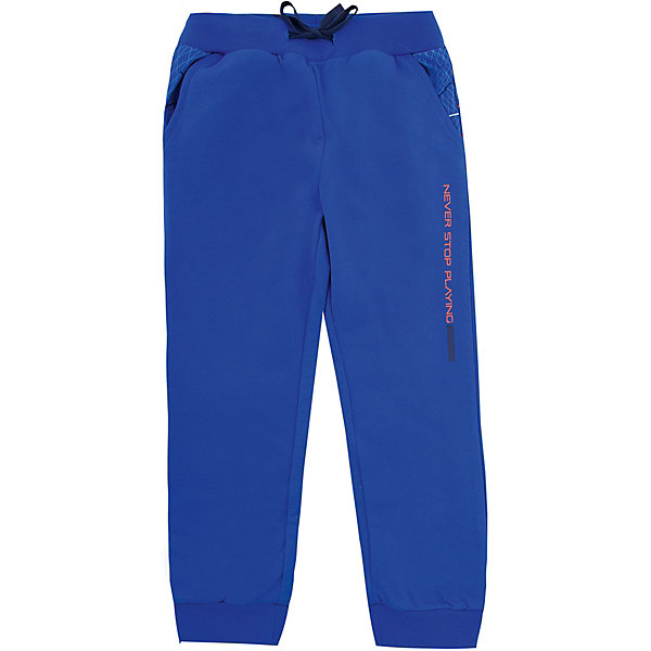 Брюки Original MarinesБрюки<br>Характеристики товара:<br><br>• цвет: синий<br>• состав ткани: 100% хлопок<br>• подкладка: 100% полиэстер<br>• сезон: демисезон<br>• особенности модели: спортивный стиль<br>• талия: резинка, шнурок<br>• страна бренда: Италия<br><br>Спортивные брюки для ребенка сделаны из качественного материала. Детские брюки дополнены легкой подкладкой. Одежда для детей от итальянского бренда Original Marines - это стильный продуманный дизайн и неизменно высокое качество вещей. <br><br>Брюки Original Marines (Ориджинал Маринс) можно купить в нашем интернет-магазине.<br>Ширина мм: 215; Глубина мм: 88; Высота мм: 191; Вес г: 336; Цвет: синий; Возраст от месяцев: 24; Возраст до месяцев: 36; Пол: Мужской; Возраст: Детский; Размер: 92/98,152/158,140/146,128/134,116/122,104/110; SKU: 8015646;
