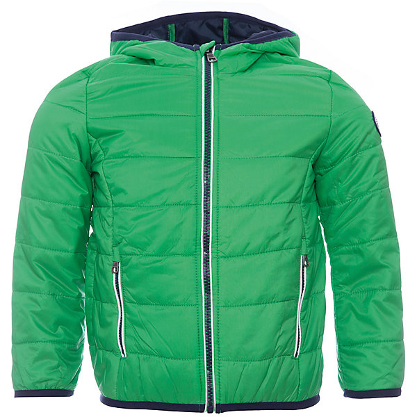 Куртка Original MarinesВерхняя одежда<br>Характеристики товара:<br><br>• цвет: зеленый<br>• состав ткани: 100% нейлон<br>• подкладка: 100% полиэстер <br>• утеплитель: 100% полиэстер <br>• сезон: демисезон<br>• температурный режим: от +10 до +20<br>• особенности модели: с капюшоном<br>• застежка: молния<br>• страна бренда: Италия<br><br>Практичная детская куртка дополнена удобными карманами. Куртка для ребенка стильно смотрится. Детская ветровка создает комфортные условия в прохладную погоду и удобно сидит по фигуре. <br><br>Куртку Original Marines (Ориджинал Маринс) можно купить в нашем интернет-магазине.<br>Ширина мм: 356; Глубина мм: 10; Высота мм: 245; Вес г: 519; Цвет: зеленый; Возраст от месяцев: 24; Возраст до месяцев: 36; Пол: Мужской; Возраст: Детский; Размер: 92/98,116/122,104/110,152/158,140/146,128/134; SKU: 8015741;
