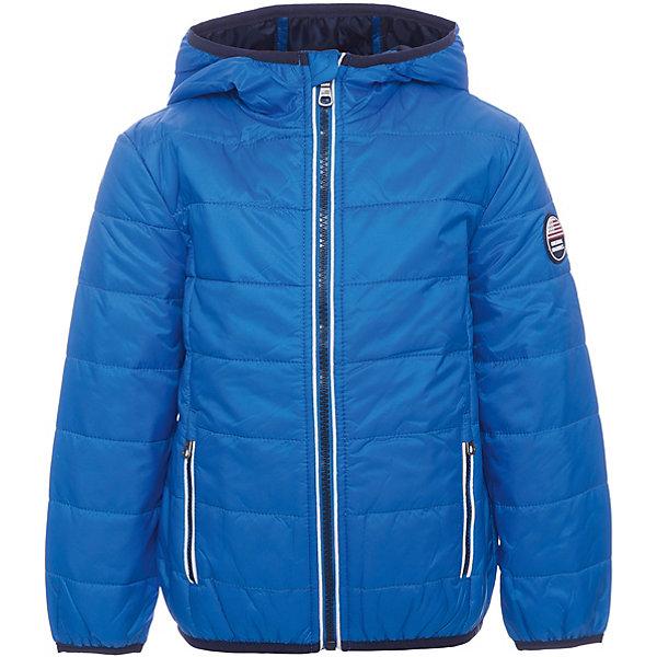 Куртка Original MarinesВерхняя одежда<br>Характеристики товара:<br><br>• цвет: голубой<br>• состав ткани: 100% нейлон<br>• подкладка: 100% полиэстер <br>• утеплитель: 100% полиэстер <br>• сезон: демисезон<br>• температурный режим: от +10 до +20<br>• особенности модели: с капюшоном<br>• застежка: молния<br>• страна бренда: Италия<br><br>Практичная детская куртка дополнена удобными карманами. Куртка для ребенка стильно смотрится. Детская ветровка создает комфортные условия в прохладную погоду и удобно сидит по фигуре. <br><br>Куртку Original Marines (Ориджинал Маринс) можно купить в нашем интернет-магазине.<br>Ширина мм: 356; Глубина мм: 10; Высота мм: 245; Вес г: 519; Цвет: синий; Возраст от месяцев: 24; Возраст до месяцев: 36; Пол: Мужской; Возраст: Детский; Размер: 92/98,104/110,152/158,140/146,128/134,116/122; SKU: 8015748;