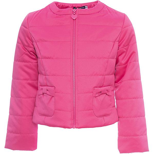 Куртка Original Marines для девочкиВерхняя одежда<br>Характеристики товара:<br><br>• цвет: розовый<br>• состав ткани: 100% полиэстер<br>• подкладка: 100% полиэстер <br>• утеплитель: 100% полиэстер<br>• сезон: демисезон<br>• температурный режим: от +10 до +20<br>• особенности модели: без капюшона<br>• застежка: молния<br>• страна бренда: Италия<br><br>Практичная детская куртка на молнии сделана из качественного материала. Куртка для ребенка стильно смотрится. Детская ветровка создает комфортные условия в прохладную погоду и удобно сидит по фигуре. <br><br>Куртку Original Marines (Ориджинал Маринс) для девочки можно купить в нашем интернет-магазине.<br>Ширина мм: 356; Глубина мм: 10; Высота мм: 245; Вес г: 519; Цвет: розовый; Возраст от месяцев: 120; Возраст до месяцев: 132; Пол: Женский; Возраст: Детский; Размер: 140/146,104/110,92/98,152/158,128/134,116/122; SKU: 8016498;