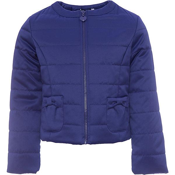 Куртка Original Marines для девочкиВерхняя одежда<br>Характеристики товара:<br><br>• цвет: синий<br>• состав ткани: 100% полиэстер<br>• подкладка: 100% полиэстер <br>• утеплитель: 100% полиэстер<br>• сезон: демисезон<br>• температурный режим: от +10 до +20<br>• особенности модели: без капюшона<br>• застежка: молния<br>• страна бренда: Италия<br><br>Практичная детская куртка на молнии сделана из качественного материала. Куртка для ребенка стильно смотрится. Детская ветровка создает комфортные условия в прохладную погоду и удобно сидит по фигуре. <br><br>Куртку Original Marines (Ориджинал Маринс) для девочки можно купить в нашем интернет-магазине.<br>Ширина мм: 356; Глубина мм: 10; Высота мм: 245; Вес г: 519; Цвет: синий; Возраст от месяцев: 120; Возраст до месяцев: 132; Пол: Женский; Возраст: Детский; Размер: 140/146,116/122,104/110,92/98,152/158,128/134; SKU: 8016505;