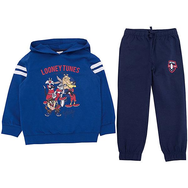 Спортивный костюм Original MarinesСпортивная одежда<br>Характеристики товара:<br><br>• цвет: синий<br>• комплектация: толстовка, брюки<br>• состав ткани: 100% хлопок<br>• сезон: демисезон<br>• особенности модели: с капюшоном, спортивный стиль<br>• пояс: резинка, шнурок<br>• длинные рукава<br>• страна бренда: Италия<br><br>Практичный спортивный костюм для ребенка сделан из натурального качественного материала. Детский спортивный костюм комфортно сидит, не вызывает неудобств. Удобный спортивный костюм обеспечит ребенку комфорт благодаря продуманному крою. <br><br>Спортивный костюм Original Marines (Ориджинал Маринс) можно купить в нашем интернет-магазине.<br>Ширина мм: 247; Глубина мм: 16; Высота мм: 140; Вес г: 225; Цвет: синий; Возраст от месяцев: 48; Возраст до месяцев: 60; Пол: Мужской; Возраст: Детский; Размер: 104/110,92/98,152/158,140/146,128/134,116/122; SKU: 8017272;