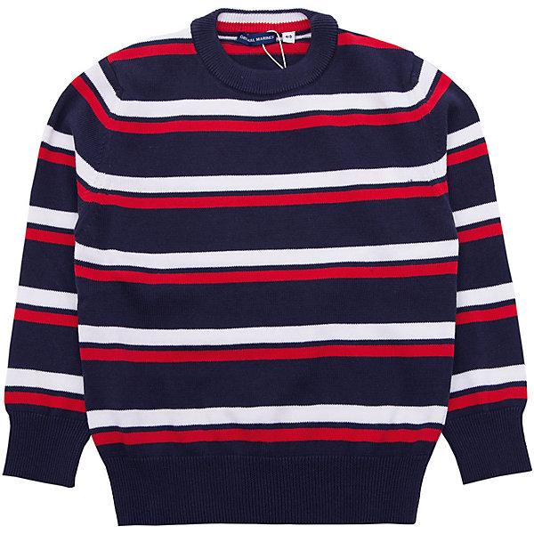Свитер Original MarinesСвитера и кардиганы<br>Характеристики товара:<br><br>• цвет: синий<br>• состав ткани: 100% хлопок<br>• сезон: демисезон<br>• длинные рукава<br>• страна бренда: Италия<br><br>Полосатый свитер для ребенка сделан из мягкого натурального хлопка Детский свитер может стать универсальной базовой вещью. Свитер для ребенка от итальянского бренда Original Marines сделан из качественного дышащего материала. <br><br>Свитер Original Marines (Ориджинал Маринс) можно купить в нашем интернет-магазине.<br>Ширина мм: 190; Глубина мм: 74; Высота мм: 229; Вес г: 236; Цвет: синий; Возраст от месяцев: 48; Возраст до месяцев: 60; Пол: Мужской; Возраст: Детский; Размер: 104/110,92/98,152/158,140,128/134,116/122; SKU: 8019021;
