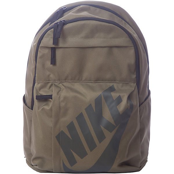 Рюкзак NIKEЧемоданы и дорожные сумки<br>Характеристики товара:<br><br>• цвет: бежевый;<br>• модель: Sportswear Elemental;<br>• состав: 100% полиэстер;<br>• сезон: круглый год;<br>• застёжка: молния;<br>• количество отделений: 2;<br>• внешний карман на молнии;<br>• мягкие регулируемые лямки и задняя вставка для поддержки;<br>• большое основное отделение с двойной молнией для надежного хранения;<br>• два боковых кармана;<br>• ручка для переноски;<br>• большой принт с логотипом Nike на переднем кармане;<br>• размер рюкзака: 32х45х20 см;<br>• страна бренда: США.<br><br>Удобный и вместительный рюкзак Nike Sportswear Elemental — новая версия классической модели. Это прочная конструкция с двумя большими отделениями и двумя внешними карманами для хранения мелочей, а также мягкими лямками для поддержки и комфорта. <br><br>Рюкзак Nike (Найк) можно купить в нашем интернет-магазине.<br>Ширина мм: 227; Глубина мм: 11; Высота мм: 226; Вес г: 350; Цвет: разноцветный; Возраст от месяцев: 168; Возраст до месяцев: 1188; Пол: Унисекс; Возраст: Детский; Размер: one size; SKU: 8020258;