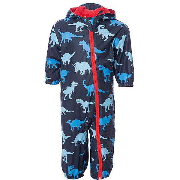 Комбинезон Hatley для мальчикаВерхняя одежда<br>Характеристики товара:<br><br>• цвет: синий<br>• состав ткани: 100% полиуретан<br>• подкладка: 100% полиэстер<br>• утеплитель: нет <br>• сезон: демисезон<br>• температурный режим: от +10 до +20<br>• особенности модели: с капюшоном<br>• застежка: молния<br>• длинные рукава<br>• штрипки<br>• страна бренда: Канада<br><br>Качественный комбинезон для детей от бренда Hatleyиз Канады сделан из непромокаемого материала. Оригинальный детский комбинезон отличается отлично проработанными деталями: длинной молнией с защитой подбородка от защемления, штрипками, капюшоном, мягкой махровой подкладкой. Комбинезон для ребенка отлично подходит для прохладной сырой погоды. <br><br>Комбинезон Hatley (Хатли) для мальчика можно купить в нашем интернет-магазине.<br>Ширина мм: 356; Глубина мм: 10; Высота мм: 245; Вес г: 519; Цвет: синий; Возраст от месяцев: 12; Возраст до месяцев: 15; Пол: Мужской; Возраст: Детский; Размер: 74/80,86/92; SKU: 8036523;