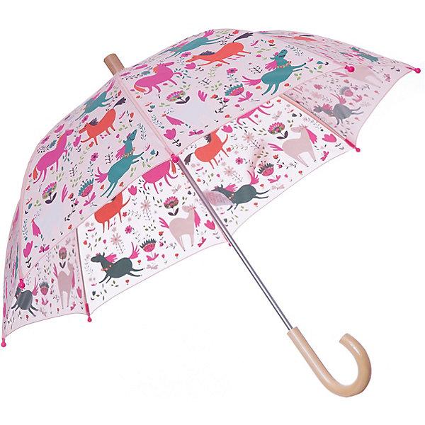 Зонт Hatley для девочкиАксессуары<br>Характеристики товара:<br><br>• цвет: розовый<br>• материал: полиэстер, сталь, дерево<br>• особенности модели: механический<br>• сезон: демисезон<br>• страна бренда: Канада<br><br>Стильный зонт для ребенка - от популярного канадского бренда Hatley, известного высоким качеством выпускаемых товаров. Этот зонт-трость для детей - с удобным для ребенка механизмом, он легко раскладывается. Детский зонт декорирован ярким принтом, деревянная ручка комфортно ложится в руку ребенка. <br><br>Зонт Hatley (Хатли) для девочки можно купить в нашем интернет-магазине.<br>Ширина мм: 170; Глубина мм: 157; Высота мм: 67; Вес г: 117; Цвет: розовый; Возраст от месяцев: 36; Возраст до месяцев: 1188; Пол: Женский; Возраст: Детский; Размер: one size; SKU: 8036558;