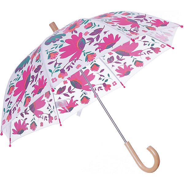 Зонт Hatley для девочкиАксессуары<br>Характеристики товара:<br><br>• цвет: белый<br>• материал: полиэстер, сталь, дерево<br>• особенности модели: механический<br>• сезон: демисезон<br>• страна бренда: Канада<br><br>Яркий детский зонт декорирован оригинальным принтом. Удобным этот зонт для ребенка от известного канадского бренда Hatley делает легкий механизм раскладывания и небольшая деревянная ручка. Такой зонт-трость для детей позволит не только защититься от дождя, он станет стильным «взрослым» аксессуаром. <br><br>Зонт Hatley (Хатли) для девочки можно купить в нашем интернет-магазине.<br>Ширина мм: 170; Глубина мм: 157; Высота мм: 67; Вес г: 117; Цвет: белый; Возраст от месяцев: 36; Возраст до месяцев: 1188; Пол: Женский; Возраст: Детский; Размер: one size; SKU: 8036572;