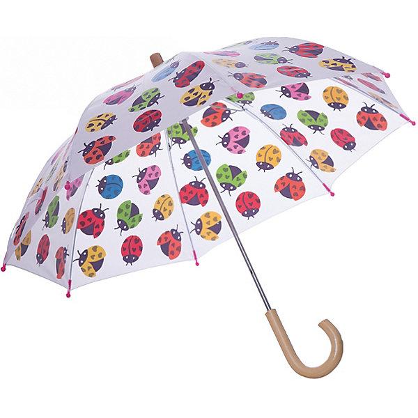 Зонт Hatley для девочкиАксессуары<br>Характеристики товара:<br><br>• цвет: белый<br>• материал: полиэстер, сталь, дерево<br>• особенности модели: механический<br>• сезон: демисезон<br>• страна бренда: Канада<br><br>Легкий зонт для ребенка - от популярного канадского бренда Hatley, известного высоким качеством выпускаемых товаров. Этот зонт-трость для детей - с удобным для ребенка механизмом, он легко раскладывается. Детский зонт декорирован ярким принтом, деревянная ручка комфортно ложится в руку ребенка. <br><br>Зонт Hatley (Хатли) для девочки можно купить в нашем интернет-магазине.<br>Ширина мм: 170; Глубина мм: 157; Высота мм: 67; Вес г: 117; Цвет: белый; Возраст от месяцев: 36; Возраст до месяцев: 1188; Пол: Женский; Возраст: Детский; Размер: one size; SKU: 8036576;