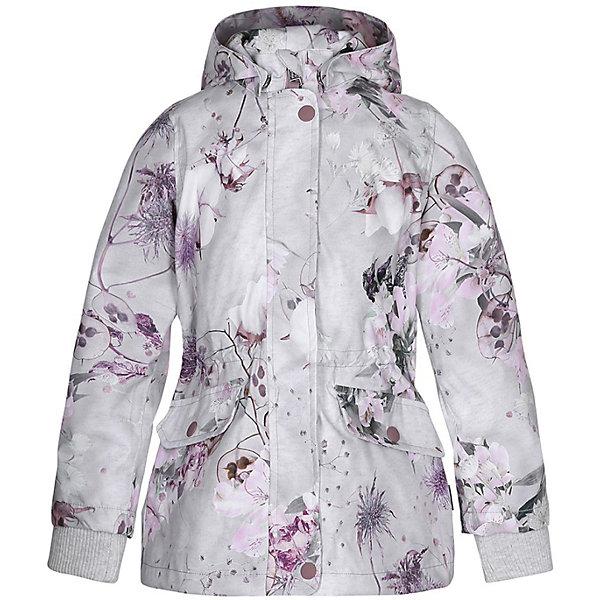 Molo Куртка Molo для девочки юбка белая с принтом molo ут 00012872