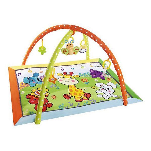 Жирафики Развивающий коврик «Жирафик и друзья» с ростомером