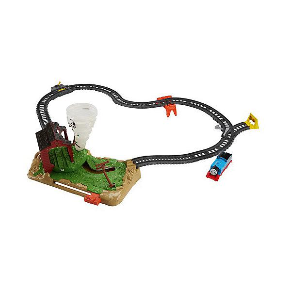 Mattel Железная дорога Thomas & Friends Томас и его друзья Невообразимый торнадо сумасшедшие ученые и доктор торнадо набор для экспериментов