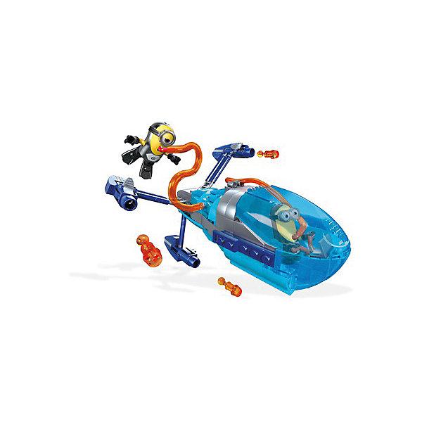 Mattel Конструктор Mega Construx Гадкий Я Субмарина Грю, 192 детали universal миньоны набор для детского творчества гадкий я 9 предметов