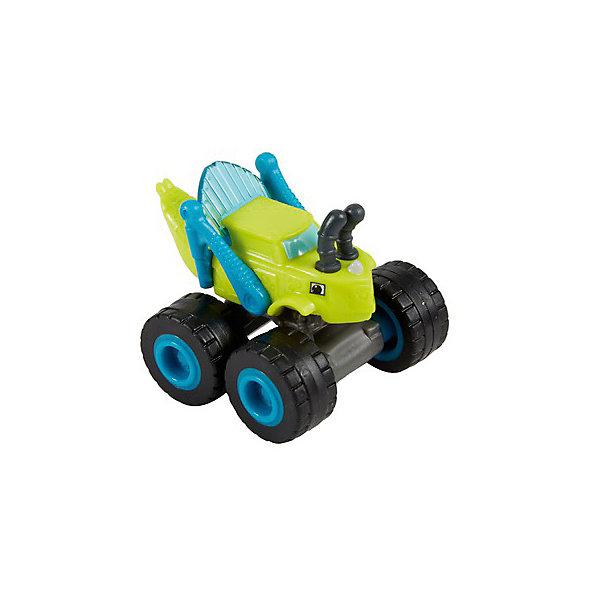 Mattel Маленькая машинка Fisher-Price Вспыш и чудо-машинки Грузовик-кузнечик