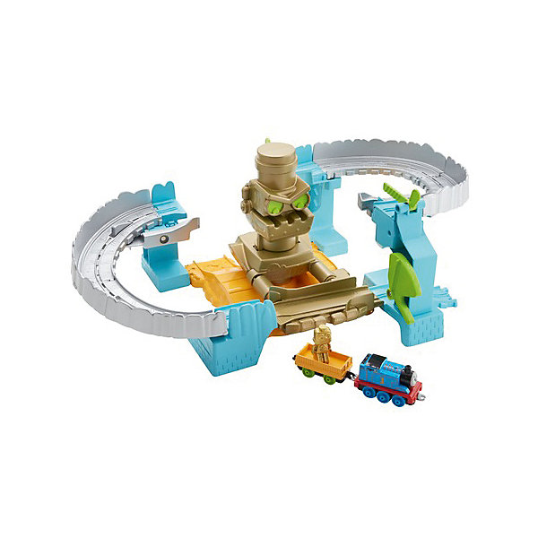 Mattel Железная дорога Thomas & Friends Томас и его друзья Робот спасает Томаса mattel железная дорога 2 в 1 fisher price томас и его друзья опасный путь
