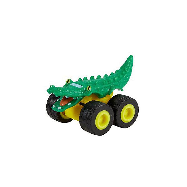 Mattel Маленкая машинка Fisher-Price Вспыш и чудо-машинки Грузовик аллигатор машинка blaze вспыш и чудо машинки 8 см в ассортименте