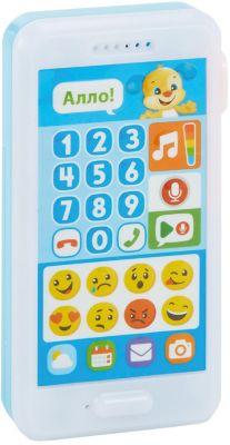 Интерактивная игрушка Fisher-Price  Смейся и учись  Телефон Учёного щенка, артикул:8068842 - Интерактивные игрушки