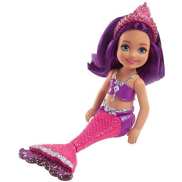 Mattel Мини-кукла Barbie Маленькие русалочки Волшебный гребешок Сияющая