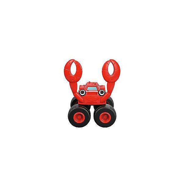 Mattel Маленкая машинка Fisher-Price Вспыш и чудо-машинки Грузовик краб машинка blaze вспыш и чудо машинки 8 см в ассортименте