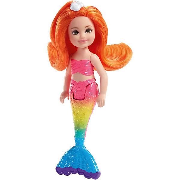 Mattel Мини-кукла Barbie Маленькие русалочки Волшебный гребешок Челси