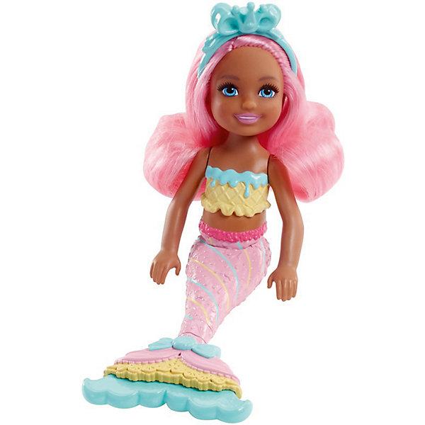 Mattel Мини-кукла Barbie Маленькие русалочки Волшебный гребешок Свитвиль