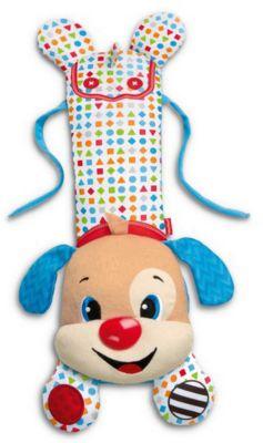 Фото - Fisher-Price Развивающая игрушка-подвеска Fisher-Price Щенок для кроватки развивающие коврики fisher price жираф