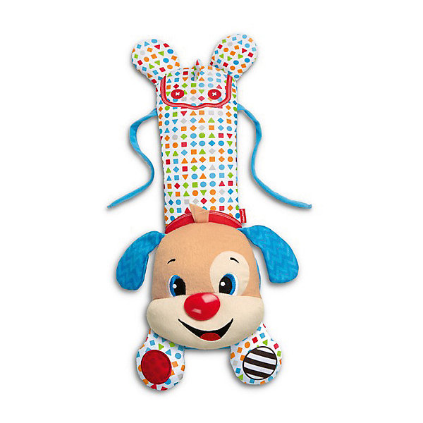 Mattel Развивающая игрушка-подвеска Fisher-Price Щенок для кроватки fisher price игрушка подвеска крокодил