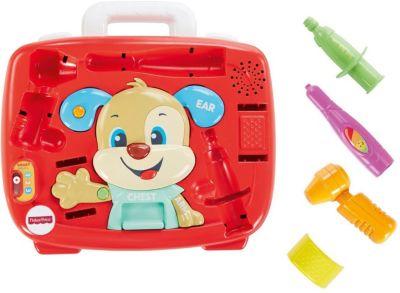 Интерактивная игрушка Fisher-Price Медицинский набор Ученого Щенка, артикул:8068891 - Интерактивные игрушки