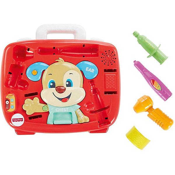 Купить Интерактивная игрушка Fisher-Price Медицинский набор Ученого Щенка, Mattel, Индонезия, Унисекс