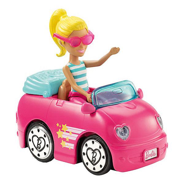 Купить Игровой набор с куклой Barbie В движении Кабриолет и мини-кукла, Mattel, Китай, Женский