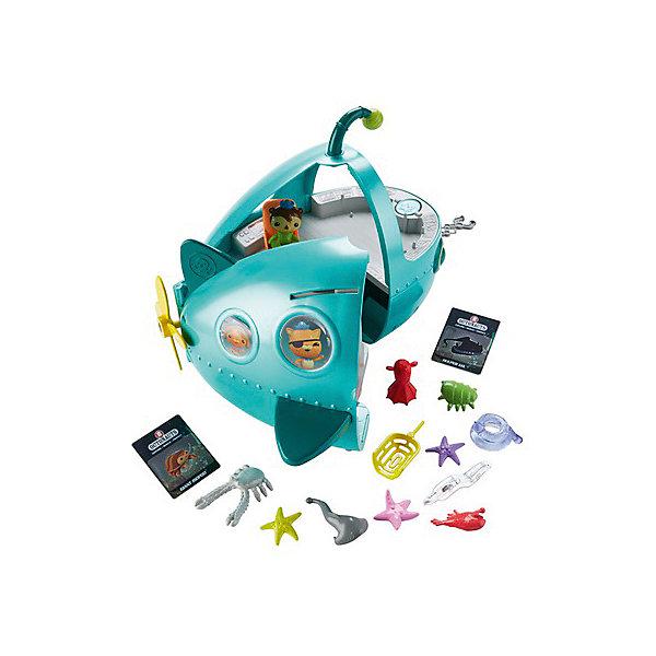 Mattel Игровой набор с фигуркой Fisher Price Октонавты Подводная лодка Шлюп-А Делюкс подводная лодка подводная лодка f301 угол клапан красоты