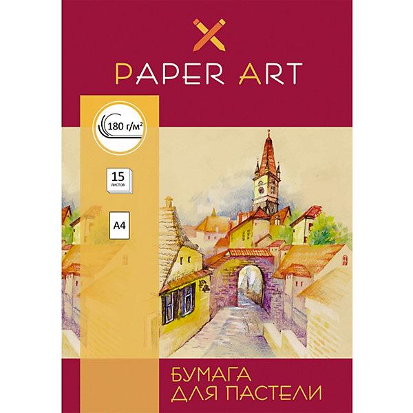 Канц-Эксмо Набор бумаги для пастели Канц-Эксмо Красочный город А4, 15 листов