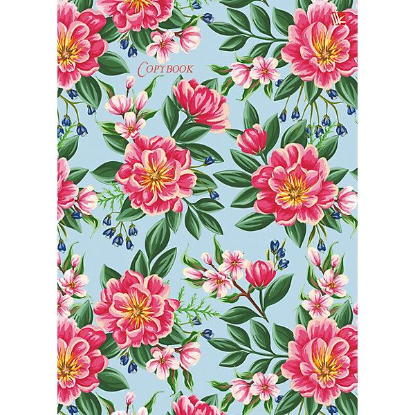 Канц-Эксмо Тетрадь со сменными блоками Канц-Эксмо Весенние цветы А5, 100 листов