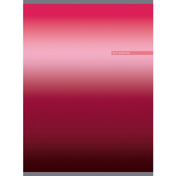 Тетрадь Канц-Эксмо А4 80 листов, малиновый градиентТетради<br>Характеристики:<br><br>? цвет: малиновый;<br>? формат: А4;<br>? плотность бумаги: 60 гр./кв.м.<br>? внутренний блок 80 листов, клетка;<br>? тип крепления: скрепка;<br>? обложка: мелованный картон, отделка — глянцевое ламинирование, печать по металлизированной пленке «серебро».<br><br>Тетрадь «Малиновый градиент» от Канц-Эксмо. Обложка отличается яркой цветовой гаммой, сочетает в себе эффект перламутра и благородный отблеск металла.<br><br>Мелованный картон позволяет сохранять аккуратный вид на протяжении длительного использования. Листы белые, прочные, хорошо впитывают чернила.<br><br>Тетрадь «Малиновый градиент» Канц-Эксмо можно купить в нашем интернет магазине.<br>Ширина мм: 270; Глубина мм: 200; Высота мм: 7; Вес г: 276; Цвет: разноцветный; Возраст от месяцев: 72; Возраст до месяцев: 2147483647; Пол: Унисекс; Возраст: Детский; SKU: 8074894;