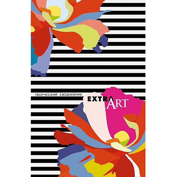 Канц-Эксмо Ежедневник Канц-Эксмо Фантастические цветы А5-, 128 листов, недатированный канц эксмо блокнот орнамент рисованные цветы 80 листов
