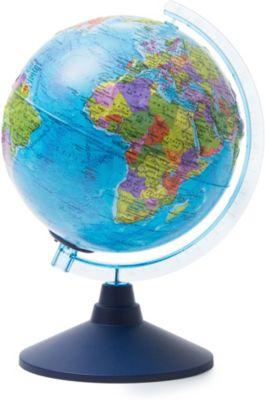 Глобус Земли Globen политический рельефный с подсветкой, 210мм, артикул:8075075 - Глобусы