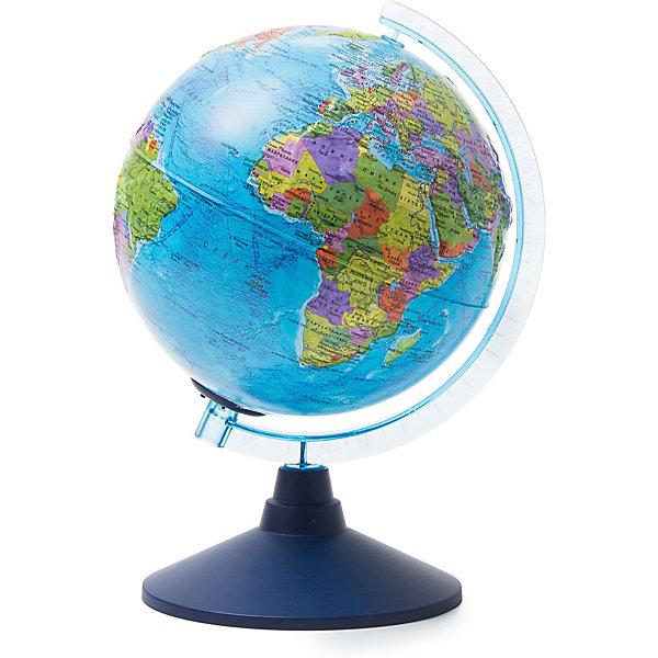 Globen Глобус Земли Globen политический рельефный с подсветкой, 210мм цены
