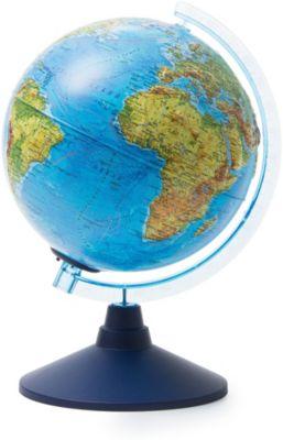 Глобус Земли Globen физический рельефный с подсветкой, 210мм, артикул:8075083 - Глобусы