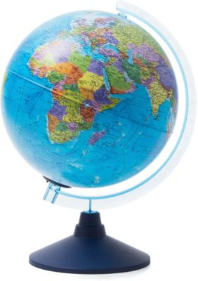Глобус Земли Globen политический с подсветкой, 250мм, артикул:8075087 - Глобусы