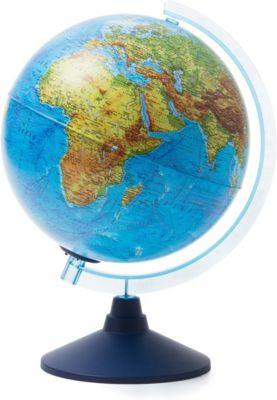 Глобус Земли Globen физический с подсветкой, 250мм, артикул:8075091 - Глобусы